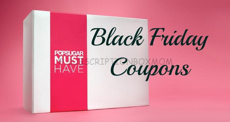 Popsugar Black Friday Coupons 2014