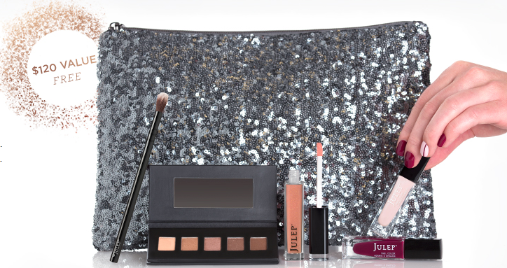Free Julep Holiday Glam Kit
