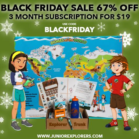 Junior Explorers Black Friday Coupon