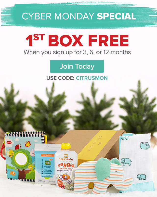 FREE Box Citrus Lane Cyber Monday Coupon + Deal