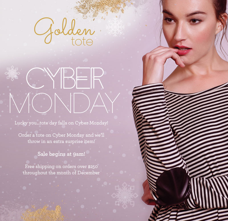 Golden Tote Cyber Monday Deal 2014