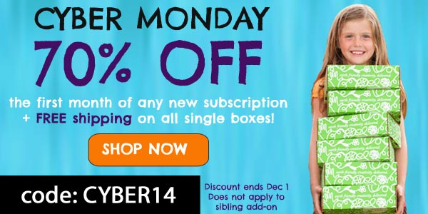 Green Kid Crafts Cyber Monday Coupon