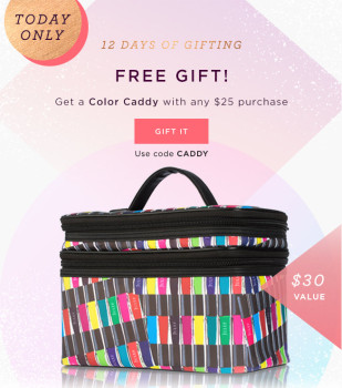 FREE Julep Color Caddy (with purchase) + Free Julep Subscription Boxes