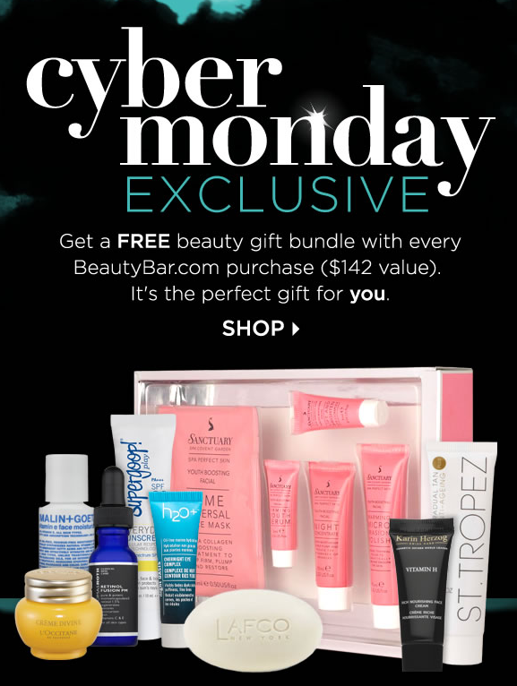 Beauty Bar Cyber Monday Coupon and Deals 2014