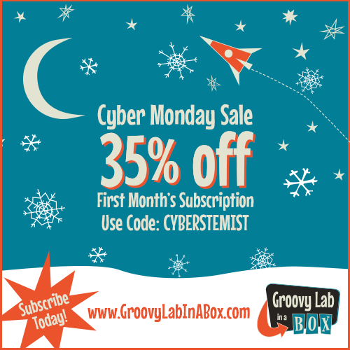 Cyber Monday Coupon + Deal: Groovy Lab in a Box