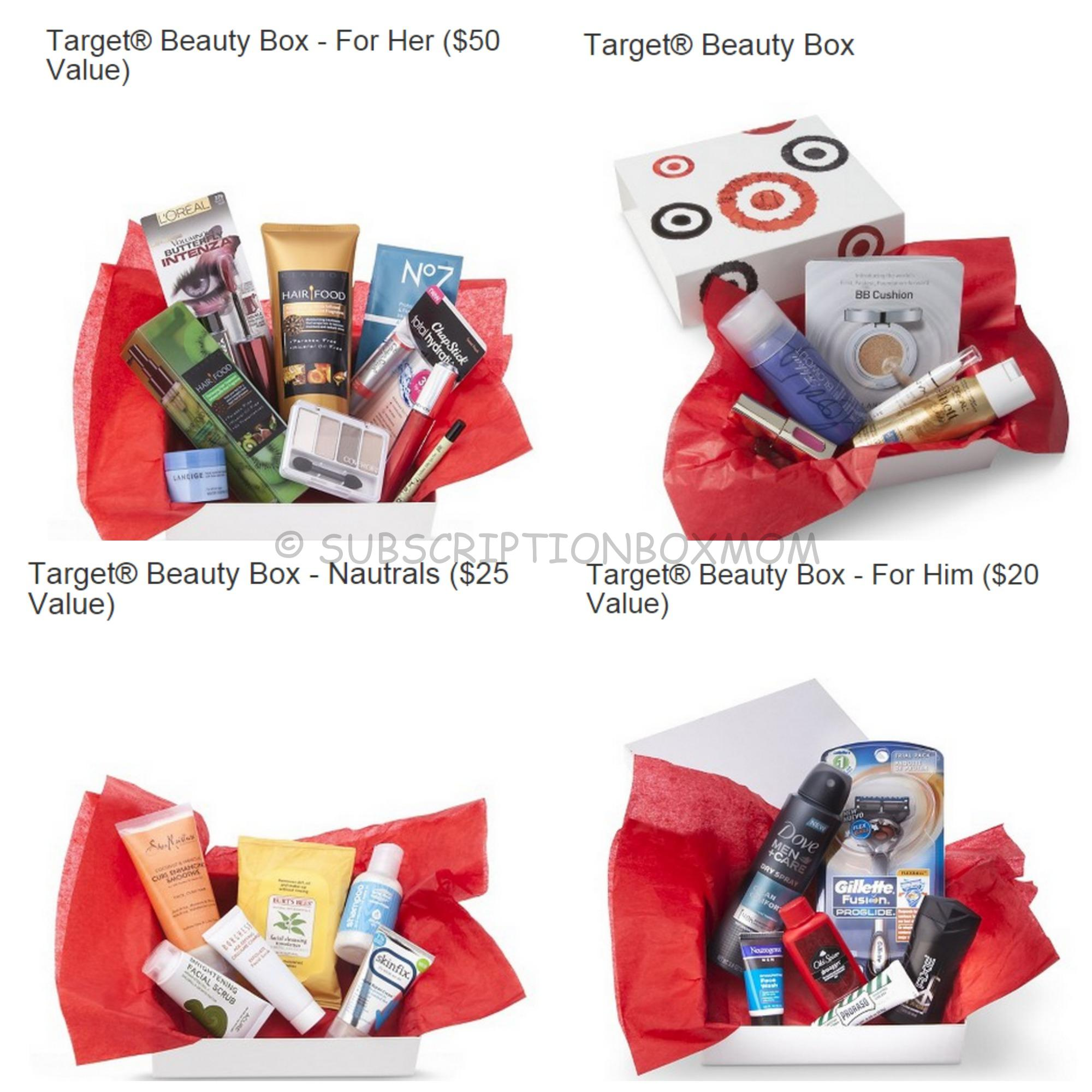 Target Mystery Boxes: Cyber Monday Deal 2014