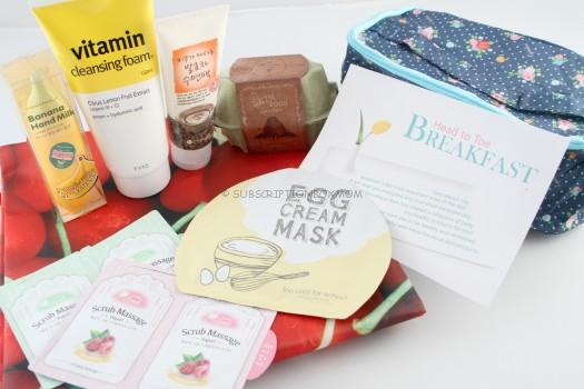 Beauteque Head to Toe Breakfast Bag Review