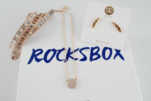 March 2015 RocksBox #1 Review + Free Box Offer