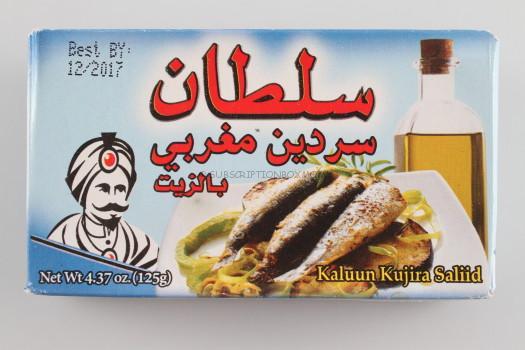 Sulton Sardine in Oil