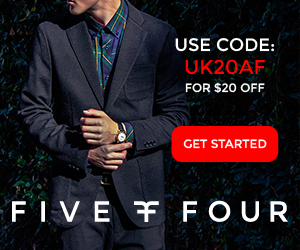 Five Four Club UK Coupon - Save $20.00