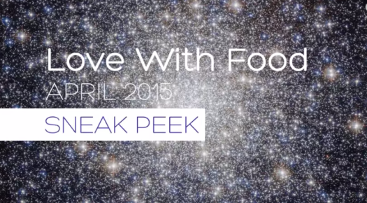 Love with Food April 2015 Spoilers