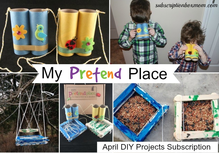 My Pretend Place April 2015 DIY Projects Subscription Box Review + Coupon