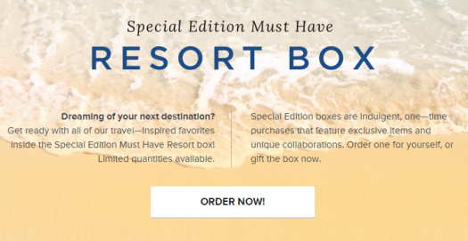Popsugar Special Edition Resort Must Have Box Spoilers
