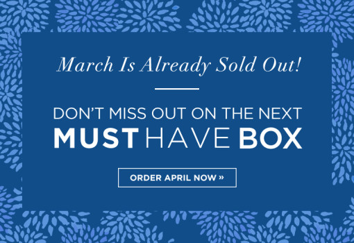 March 2015 Popsugar Must Have Box SOLD OUT + April 2015 Coupon