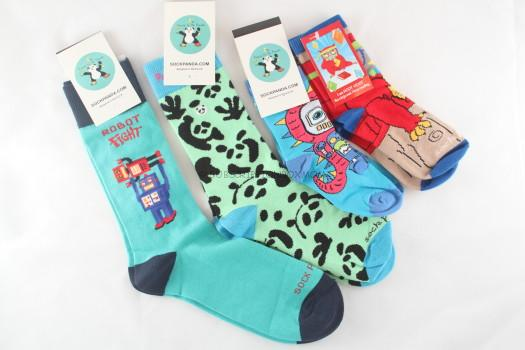 Sock Panda April 2015 Review