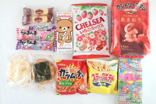 Nandemobox April 2015 Review - Japanese Snack Subscription
