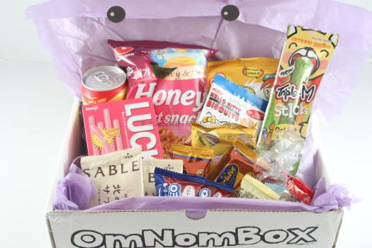 OmNomBox April 2015 Review + Coupon