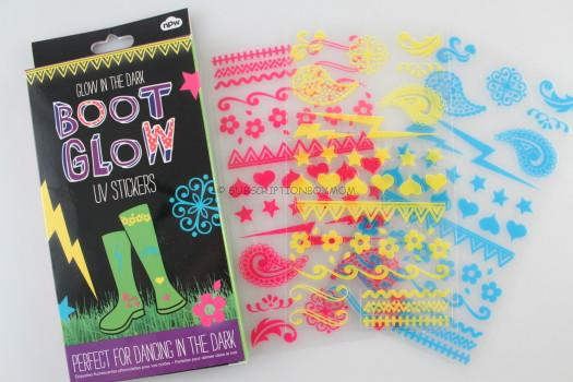 Boot Glow Wellie Stickers