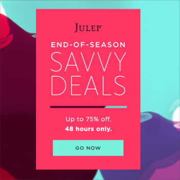 Julep End Of Season Savvy Deals