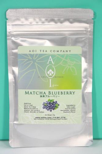 Aoi Blueberry Matcha Tea
