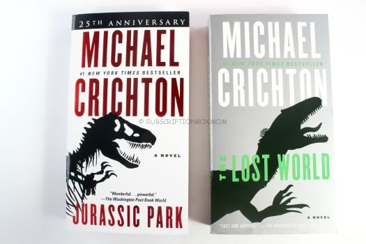 Michael Crichton Jurassic Park and The Lost World