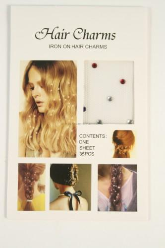 Iron on Hair Charms