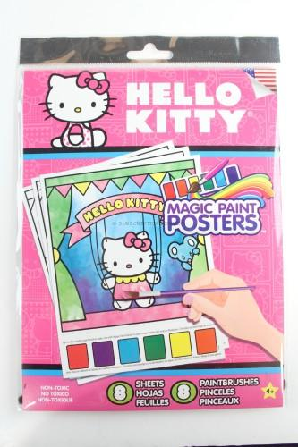 Hello Kitty Magic Paint Poster Book