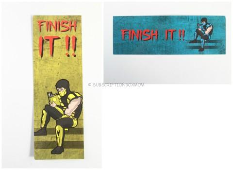 Finish It Book Mark