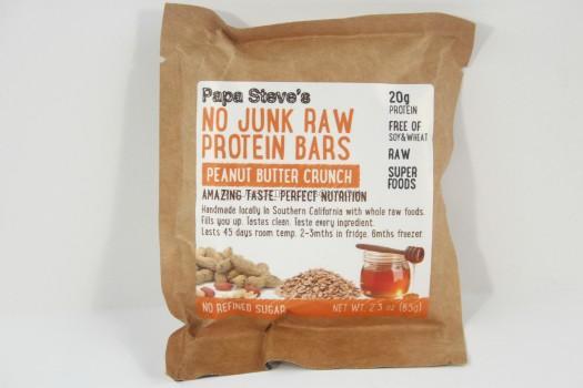 Papa Steve Peanut Butter Protein Bar