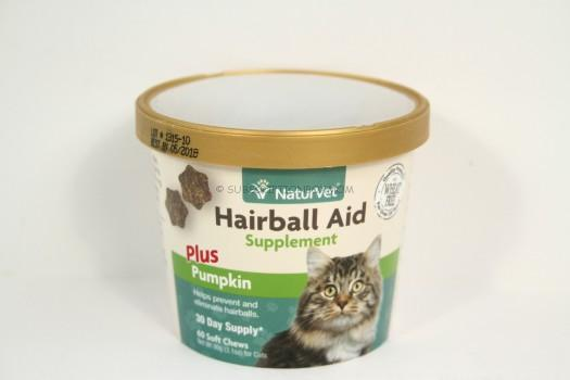 NaturVet Hairball Air Supplement