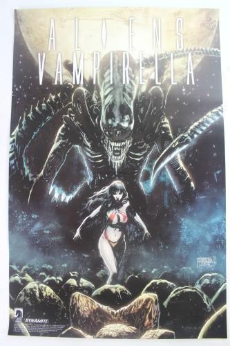 Aliens vs Vampirella Poster