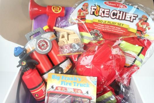 My Pretend Place Dress Up Box July 2015 Review - Firefighterw