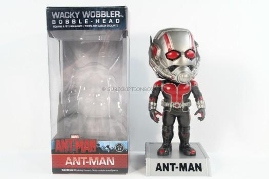 Funko Wacky Wobbler: Marvel Ant-Man Action Figure