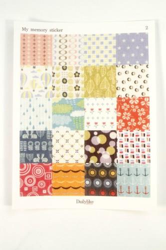 Quilt Pattern Stickers