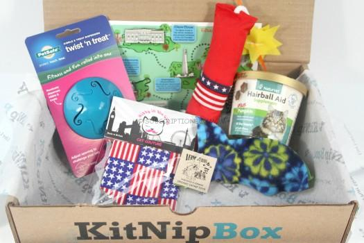 KitNipBox July 2015 Review