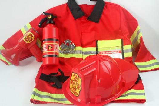 Melissa and Doug Firefighter Outfit