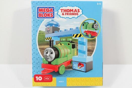 Mega Bloks Thomas & Friends Percy Buildable Engine Toy Figure
