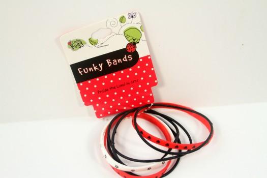 LaeDee Bugg Funky Bands - Ladybug
