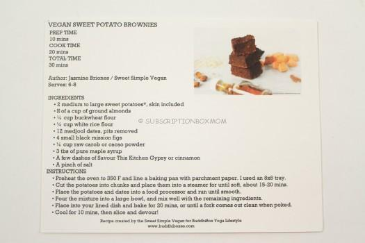 Vegan Sweet Potato Brownies Recipe
