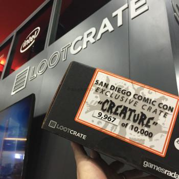 "Loot Crate San Diego Comic Con Exclusive Crate ""Creature"" Limited Edition"