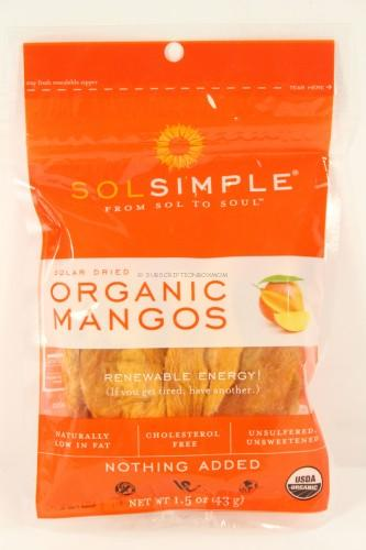 Sol Simple Solar Dried Mangos