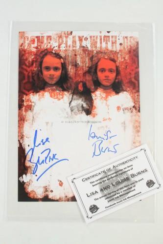 Grady Twins Autographed Print