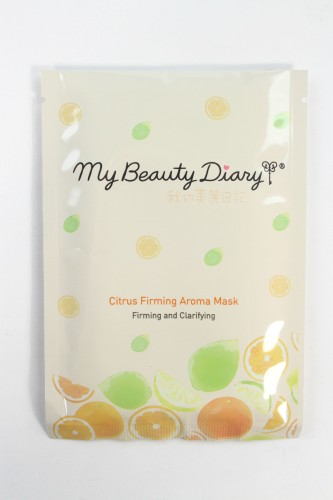 My Beauty Diary Citrus Firming Aroma Mask