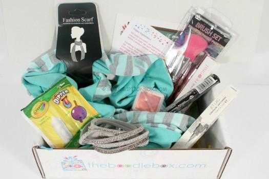 August 2015 Boodle Box 2 Review