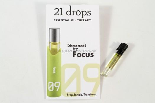 Focus Essential Oil Blend by 21 Drops