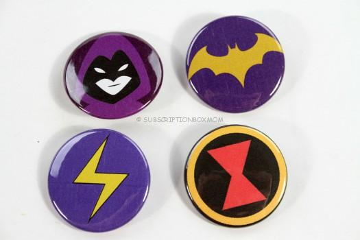 Sheroes Buttons: