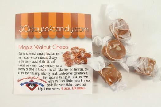 Maple Walnut Chews: