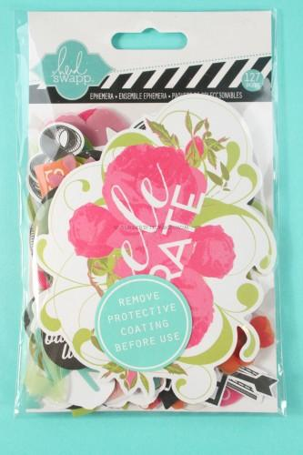 Heidi Swapp Favorite Things Ephemera Die-Cut Paper Pack