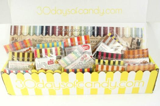 30 Days of Candy August 2015 Review