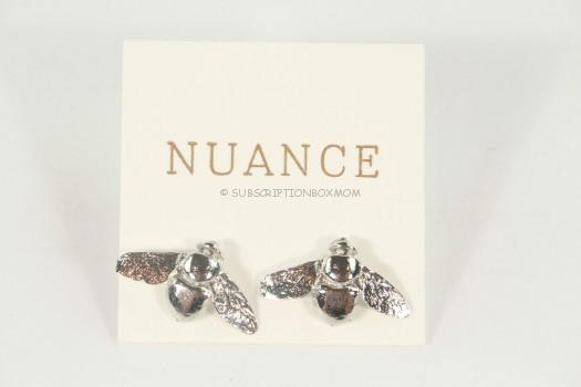 Nuance Jewelry Bee Post Earrings